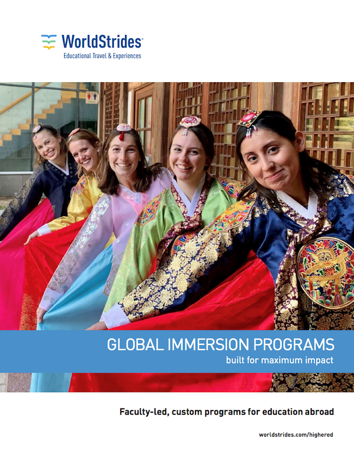 Download our Education Abroad Brochure